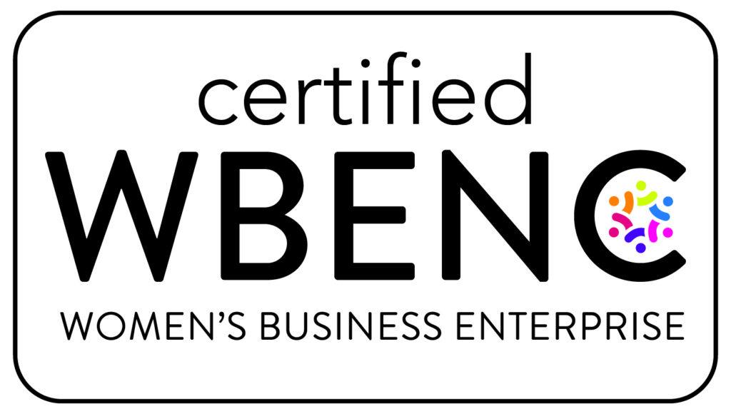 Certified Women Business Enterprise Seal